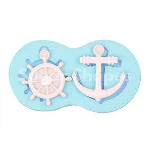 SILICONE MOULD NAUTICAL ASSORTED 2PC