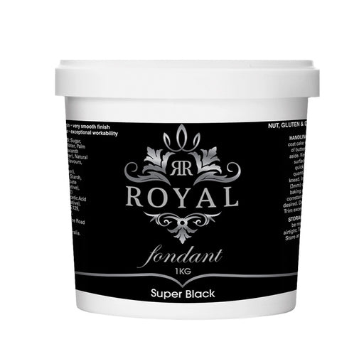 ROYAL FONDANT 1KG SUPER BLACK