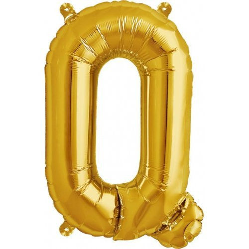 "ALPHABET BALLOON GOLD 16"" Q"