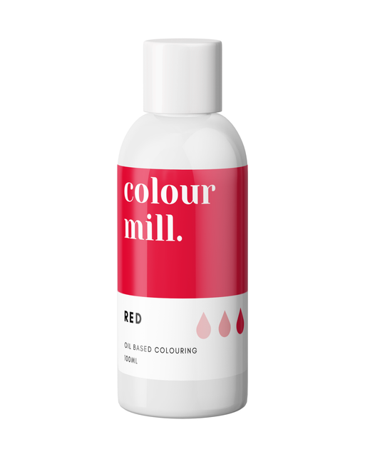 COLOUR MILL OIL BASED COLOURING 100ML RED