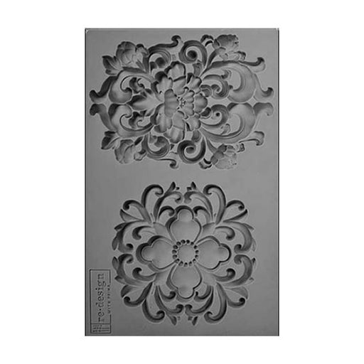 SILICONE MOULD DECOR KINGSBURY MEDALLION