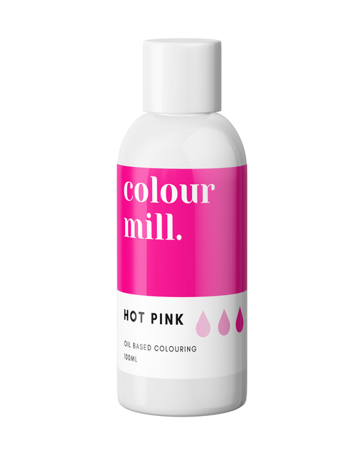 COLOUR MILL OIL BASED COLOURING 100ML HOT PINK