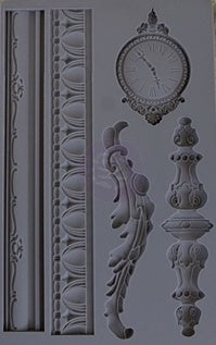 SILICONE MOULD DECOR BAROQUE 6