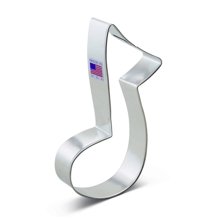 ANN CLARK COOKIE CUTTER MUSIC NOTE LARGE 5""