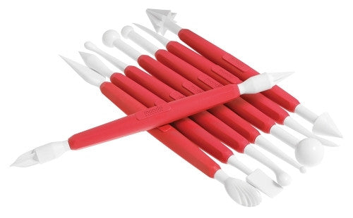 FONDANT MODELLING TOOLS 8PC