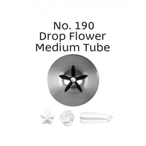 PIPING TIP DROP FLOWER #190