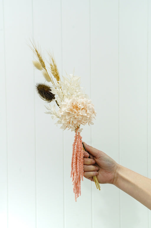 DRIED FLOWER BUNCH BLUSH