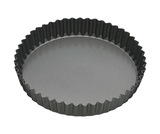 MASTERCRAFT HEAVY LOOSE BASE ROUND FLAN/QUICHE PAN 25CM