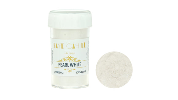 FAYE CAHILL LUSTRE PEARL WHITE