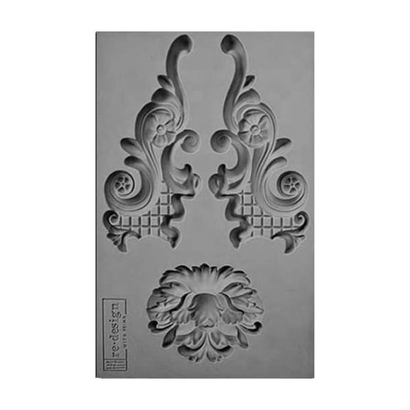 SILICONE MOULD DECOR LOWELL LATTICE