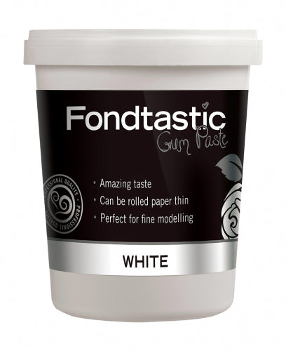 FONDTASTIC GUM PASTE 908G WHITE