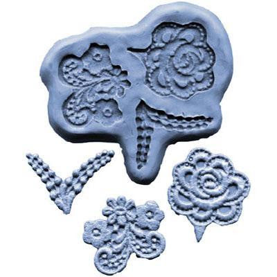 SILICONE MOULD FLOWER DESIGNS 1 1/2