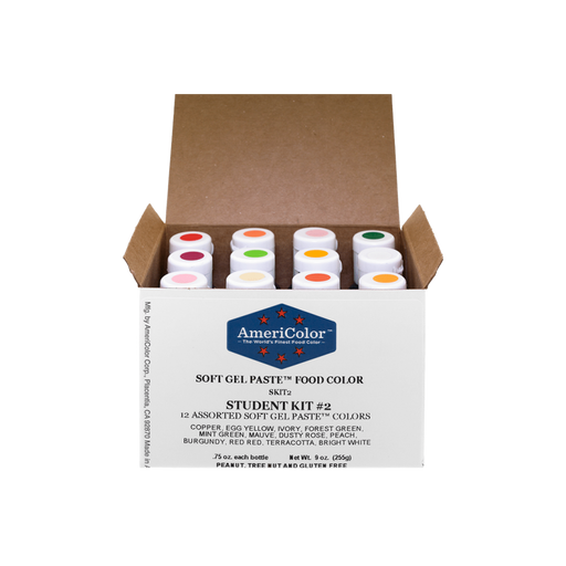 AMERICOLOR GEL COLOUR STUDENT KIT #2 12PC