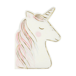 NAPKIN SET UNICORN 16PC
