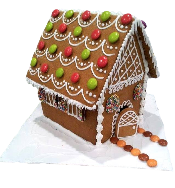 GINGERBREAD HOUSE KIT 9PC