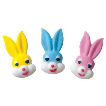TOPPER SMALL BUNNY HEAD 5PC