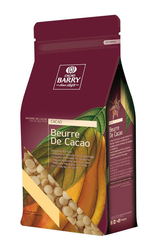 CACAO BARRY COCOA BUTTER PISTOLS 1KG
