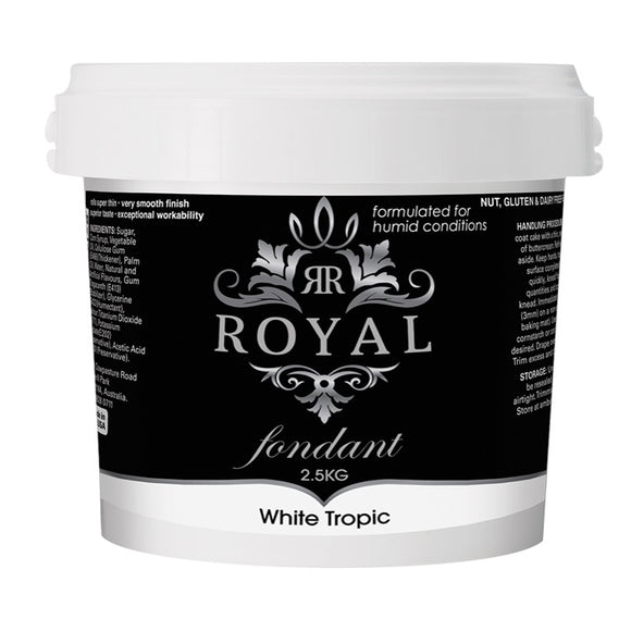ROYAL FONDANT 2.5KG TROPIC WHITE