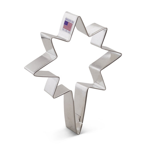 ANN CLARK COOKIE CUTTER BETHLEHEM STAR 5""
