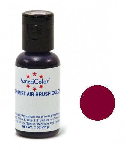 AMERICOLOR AIRBRUSH COLOUR 0.65OZ BURGUNDY