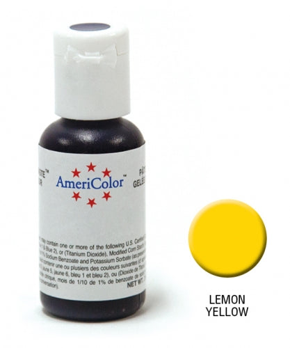 AMERICOLOR GEL COLOUR 21G LEMON YELLOW