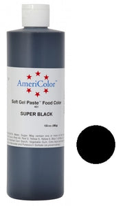 AMERICOLOR GEL COLOUR 13.5OZ SUPER BLACK