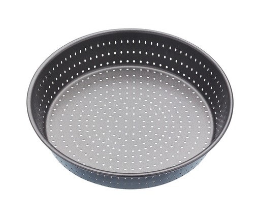 MASTERCRAFT CRUSTY BAKE DEEP ROUND PIE/TART TIN 24CM