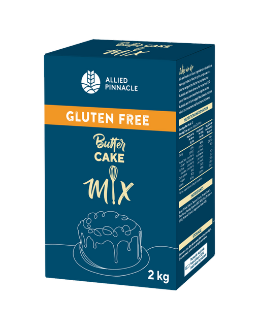 CAKE MIX 2KG ALLIED PINNACLE GLUTEN FREE BUTTER CAKE