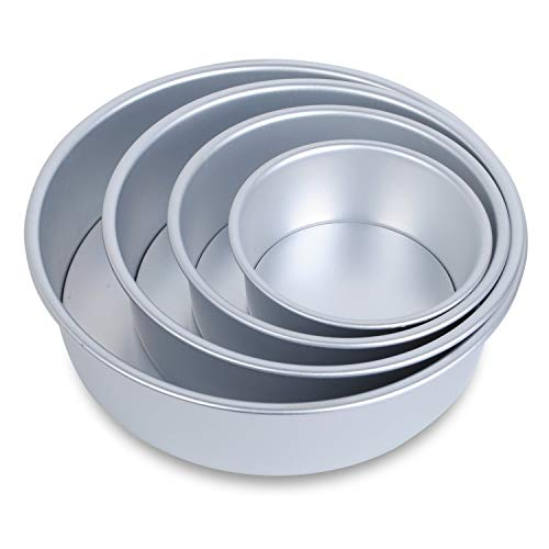CAKE PAN SET ROUND 4PC