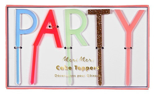 TOPPER ACRYLIC PARTY