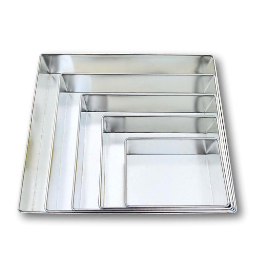 "CAKE TIN RECTANGLE 7"" X 9"""
