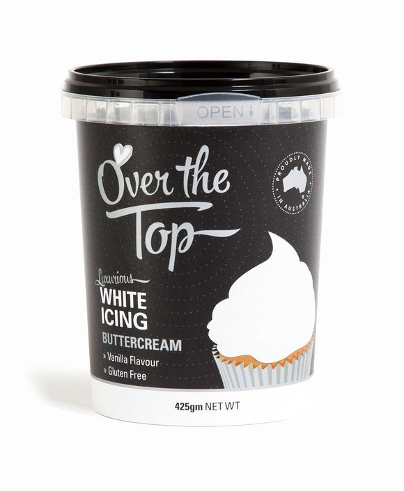OVER THE TOP BUTTERCREAM WHITE 425G