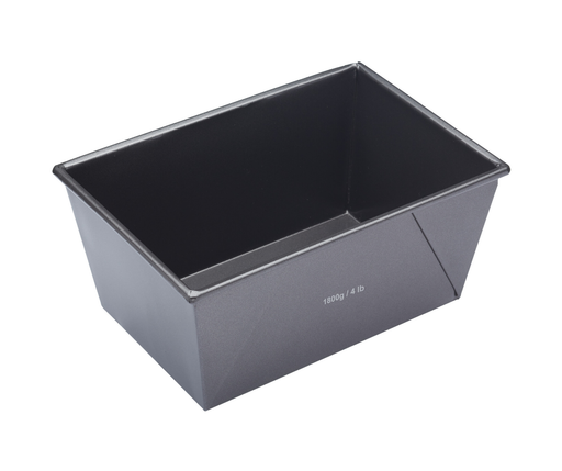 MASTERCRAFT HEAVY BASE BOX SIDED LOAF TIN 24CM