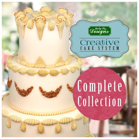 MOULD CREATIVE CAKE SYSTEM COMPLETE COLLECTION