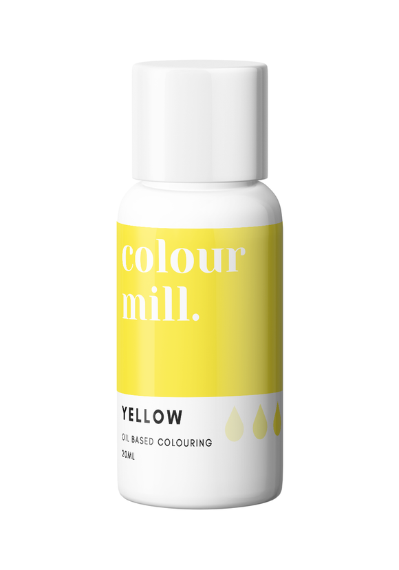 COLOUR MILL OIL BASED COLOURING 20ML YELLOW