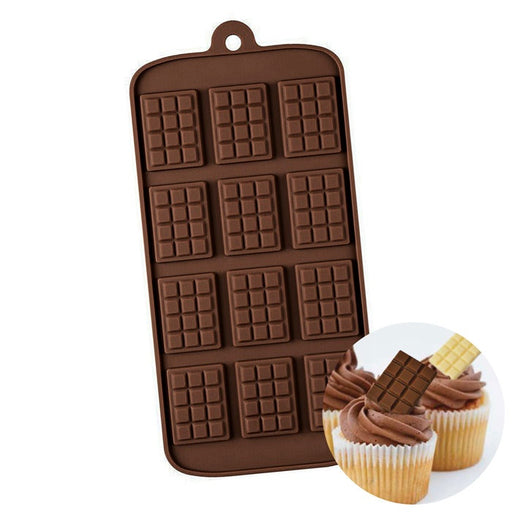 SILICONE MOULD MINI CHOCOLATE BLOCK