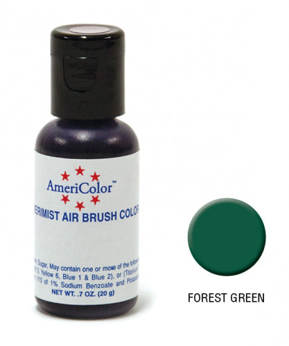 AMERICOLOR AIRBRUSH COLOUR 0.65OZ FOREST GREEN
