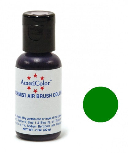 AMERICOLOR AIRBRUSH COLOUR 0.65OZ LEAF GREEN