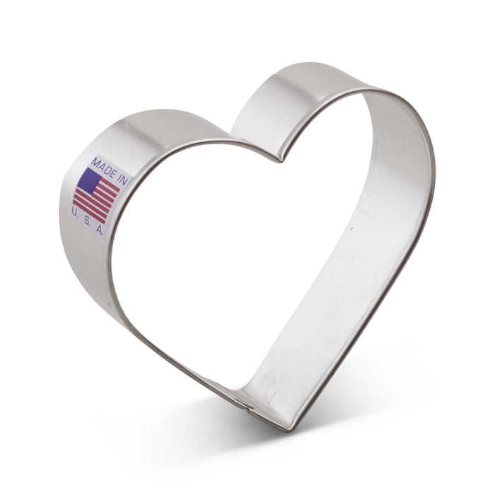 ANN CLARK COOKIE CUTTER HEART 3.5""