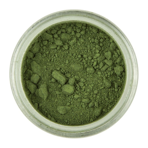 RAINBOW DUST POWDER COLOUR & PETAL DUST OLIVE GREEN