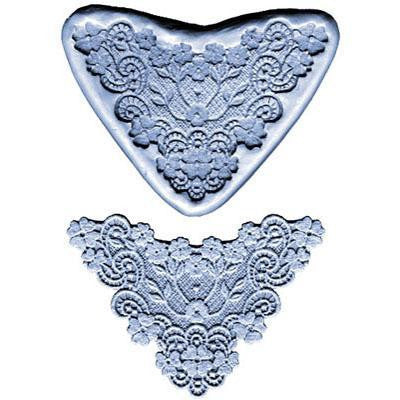 SILICONE MOULD FLOWER LACE BORDER