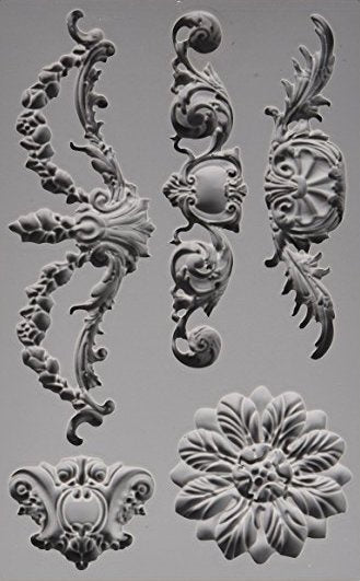 SILICONE MOULD DECOR BAROQUE 3