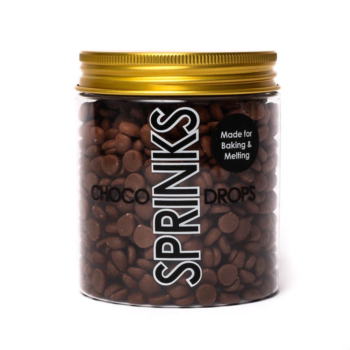 SPRINKS CHOCO DROPS 200G BROWN