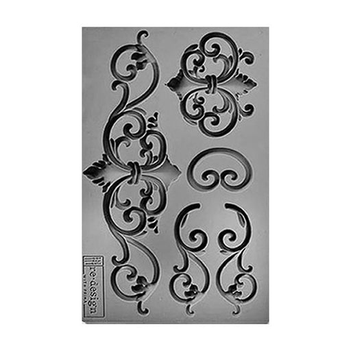 SILICONE MOULD DECOR TILDEN FLOURISH
