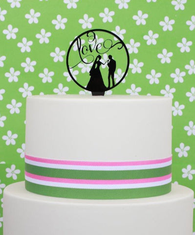 ACRYLIC TOPPER WEDDING LOVE