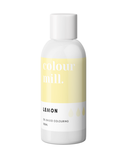 COLOUR MILL OIL BASED COLOURING 100ML LEMON