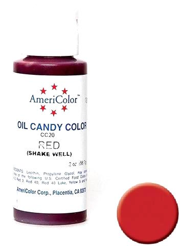 AMERICOLOR CANDY COLOUR 2OZ RED