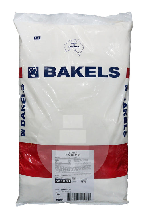 BAKELS CAKE MIX 15KG WHITE MUD (CREME MUFFIN)