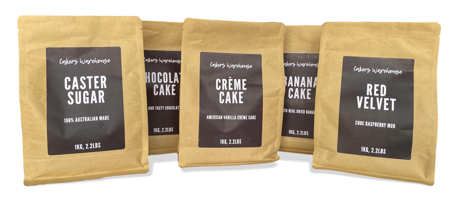 CAKE MIX 1KG WHITE MUD