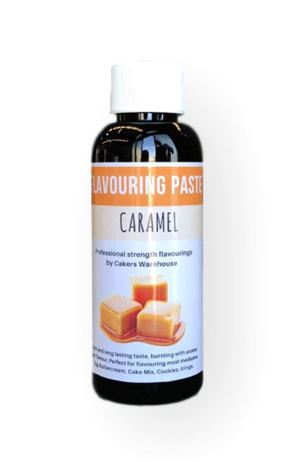 FLAVOURING PASTE 100G CARAMEL